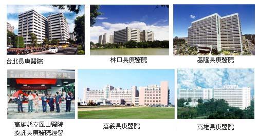 台湾各家长庚医院.
