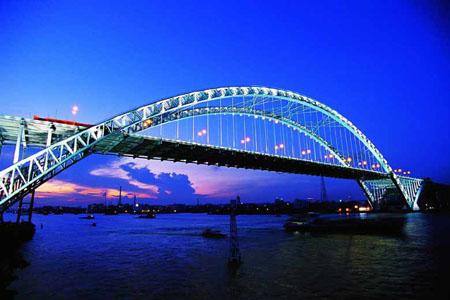 世界先进的转体拱桥