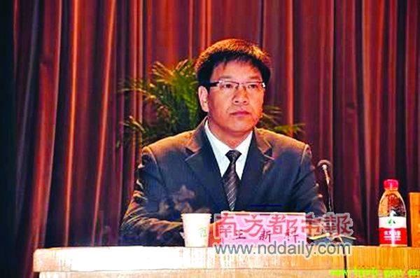 泌阳县人口和计生委网站上的图片新闻,标题是《副县长王新科安排