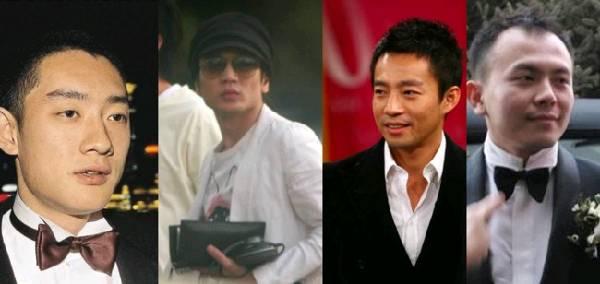 京城四少:(左至右)汪雨,王烁,汪小菲和王珂