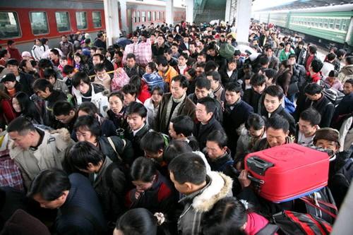 中国春运可谓是当今世界规模最大的人口迁徙-为什么中国人40天时间