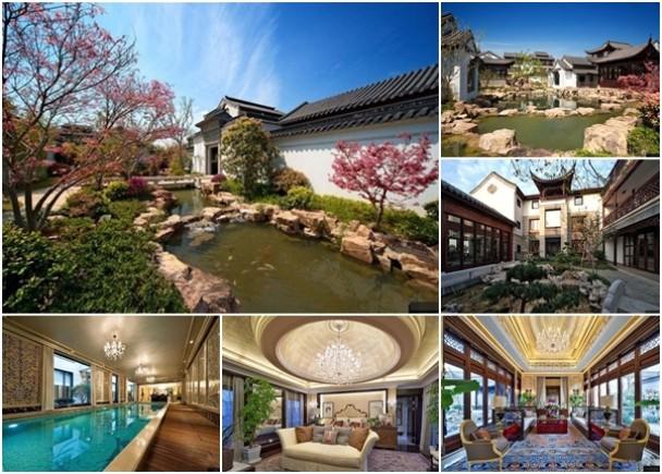 """中国隐藏着一个别墅的别墅手工,每幢豪宅纸箱5亿元人民币,被誉为""""苏州园区教程低调售价v别墅图片"""