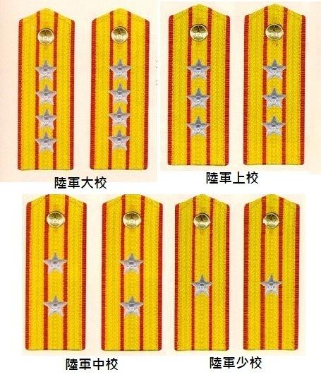 【陆军大校】为陆军正师职军官的主要军衔.此外,它还是陆军副军