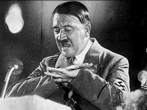 """中评社香港9月10日电/希特勒并非""""纯种""""日耳曼人.图片"""