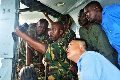 俄媒:中国14架最新型歼7出口非洲坦桑尼亚