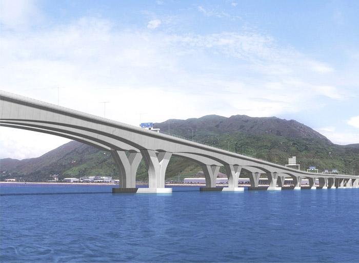 贯通港澳粤三地 港珠澳大桥2016完工