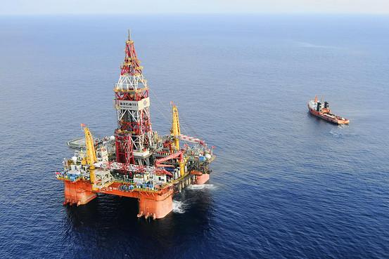中国大量舰机守卫981钻井平台 - 博弈林泉 - 博弈林泉