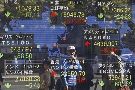 亚洲股市_年末临近 全球投资者追捧亚洲股市