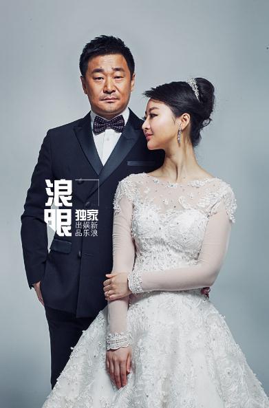 王景春婚纱大片 恩爱浪漫幸福满溢