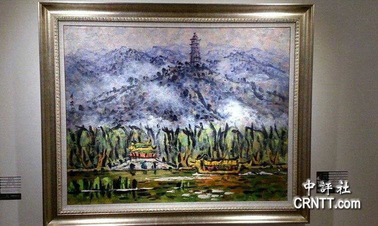 李秀实墨骨油画东南亚巡回展 高雄展出