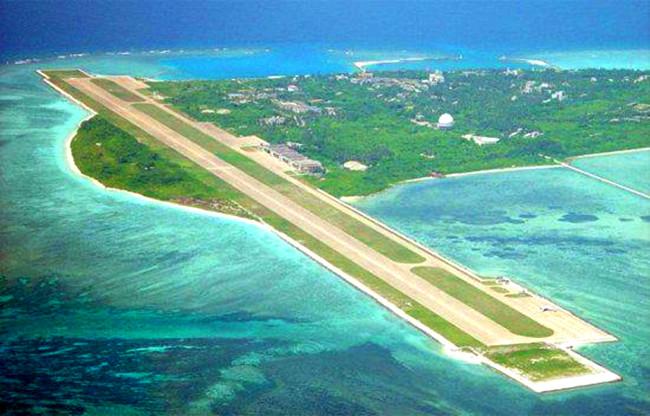 中國在南海島礁設施日漸完善被美方認為是設立南海防空識別區條件趨於成熟。
