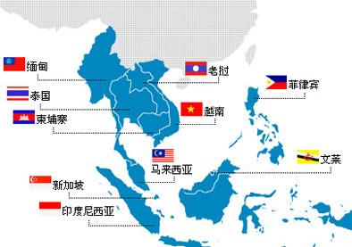 东盟10国经济总量_东盟10国国旗