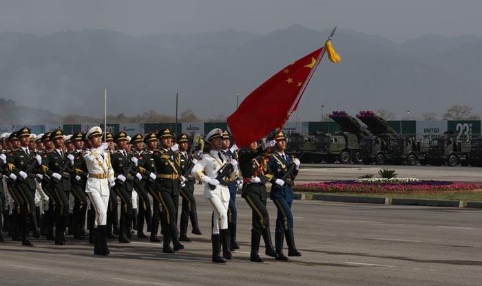 阅兵仪式_文章称,中国军队亮相阅兵仪式绝非偶然.