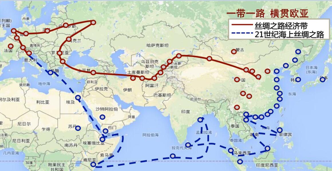 中国的亚欧非战略 - shufubisheng - 修心练身的博客