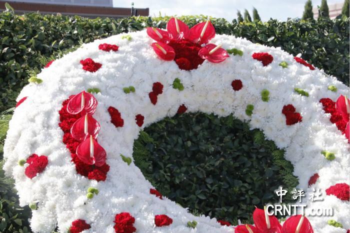 烈士纪念日为英雄敬献的花篮长啥样
