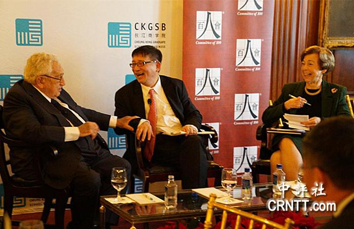 李成呼吁中美关系转危为安