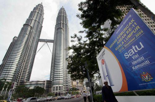 吉隆坡地标双子塔成为是次峰会标志