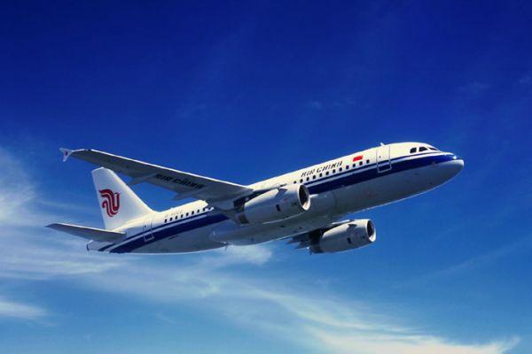 中国评论新闻:中国国航购入的首架空中巴士客机a319
