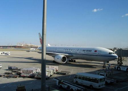 上海机场全年飞机