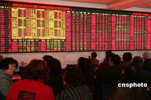 中国股市 升势难挡