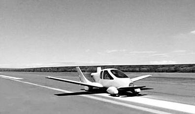 美国研制会飞的汽车