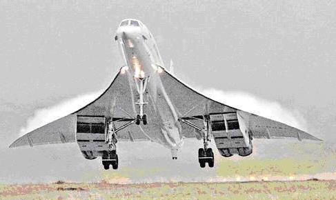 """打算让停飞近4年的""""协和""""式超音速飞机重新升空."""