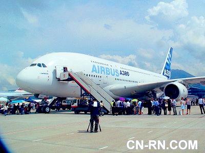 空客a380飞机首位私人