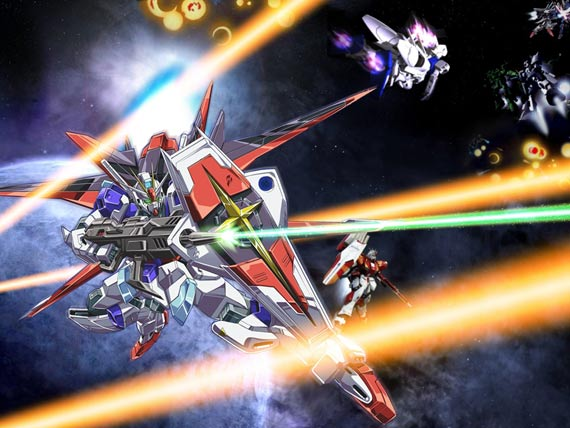 高达是日本动画片《机动战士高达》中,战无不胜的巨大作战型机器人.