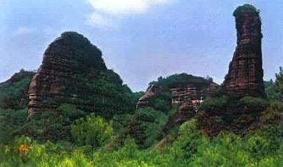 将与贵州赤水,江西龙虎山,湖南崀山等中国6省以丹霞地貌著称的风景