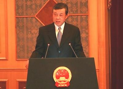 朝鲜国防委员会人民武力部副部长朴在京大将,海军副司令李仁洙少将