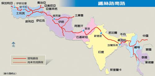 欧亚两大陆连成一线 全球最长铁路年底通车