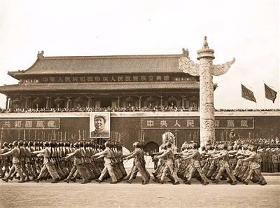 1949年开国大典阅兵.