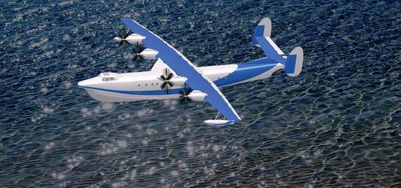 中国大型两栖飞机研制启动 2013年首飞