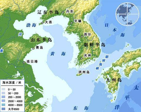 朝鲜舰艇越过西海大青岛附近的北方限界线
