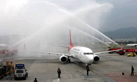 大陆增加太原,长春,南宁,烟台4个航点作为两岸客运定期航班航点.