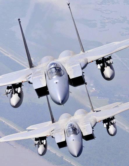 美军将退役约250架f15/16战斗机