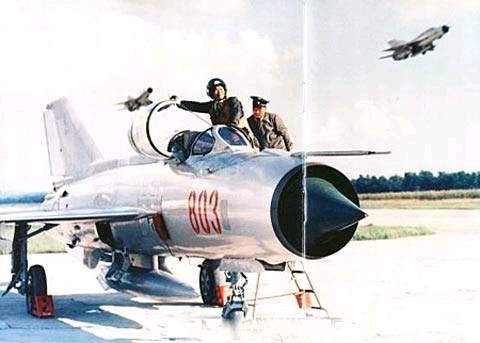 朝鲜人民军空军_朝鲜人民军空军主力米格-21战斗机.(来源:环球网)