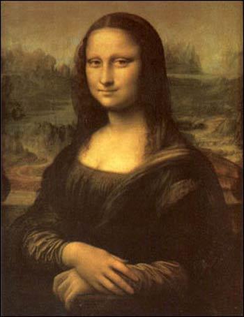 蒙娜丽莎美丽优雅,庄重贤淑,直至今日,她的神秘微笑,仍为无数历史学家图片