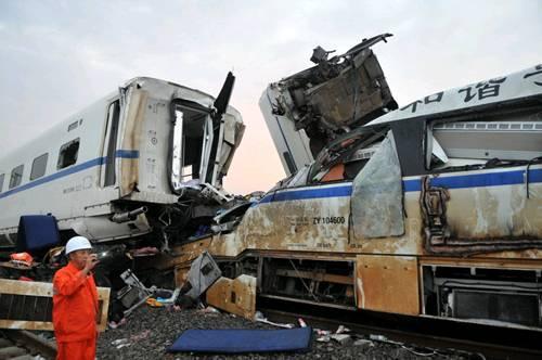 这起事故中,也许是轨道电路在雷击中受到了破坏.