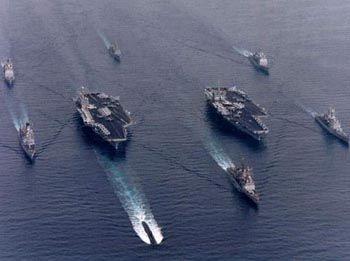 中国航母编队最大短板在补给