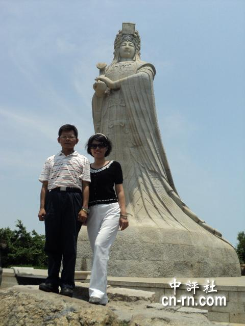 海沧青礁慈济东宫后,4日继续前往莆田湄洲岛妈祖庙朝拜,妈祖诞辰是3月