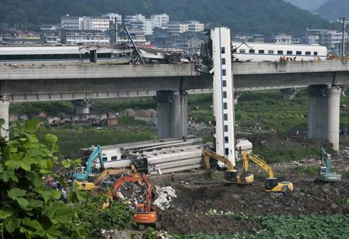 中国评论新闻 动车事故报告 谁为中国高铁负责