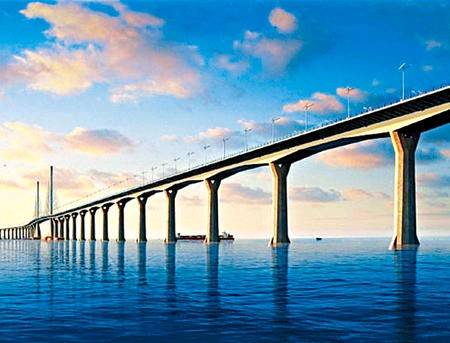 港珠澳大桥再招标 造价飙88亿