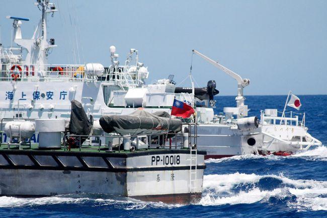 会派遣舰艇维护保钓船安全.(资料图)-台 海巡署 将派舰艇维护保图片