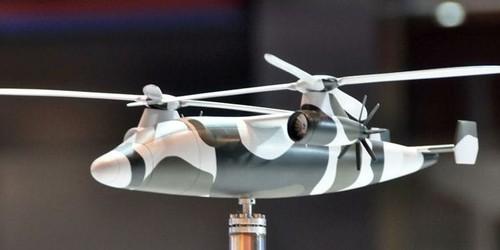 本次珠海航展上曝光国产新概念高速直升机方案.