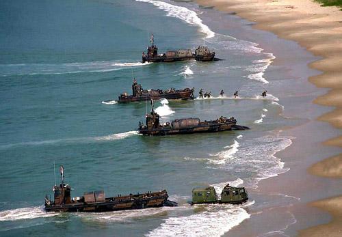 日本军事_据传美国政府不满日本终止日美联合夺岛军事演习