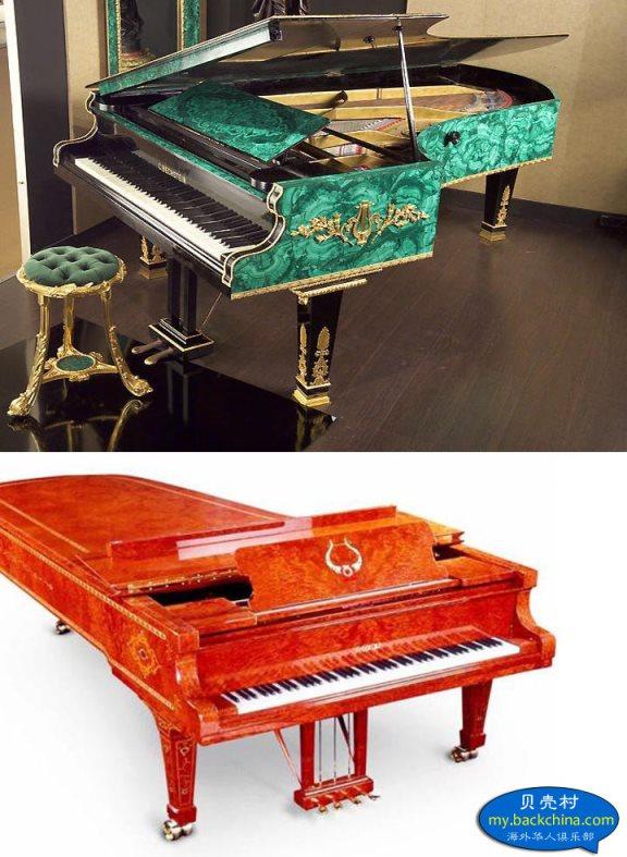 目前世界上最贵的钢琴图片
