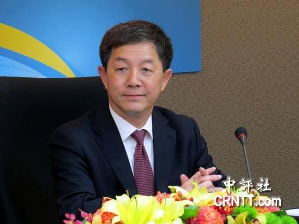 """台湾13位出版业者代表举行""""两岸出版交流座谈会"""".(中评社"""