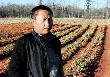 中国评论新闻:美国华裔博士的农民梦