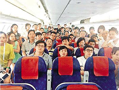 所有乘客已获安排乘搭昨日下午最早的航班前往上海